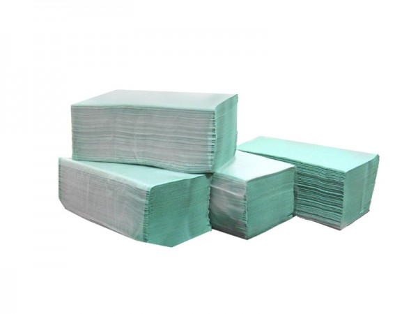 Papierhandtücher grün 25x23 cm Z-Falz (40x250)