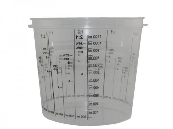 Mischbecher Lackmischbecher 1400 ml (1x200 Stk.)