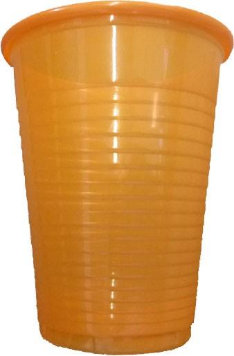 Mundspülbecher orange 180 ml (09034-O)