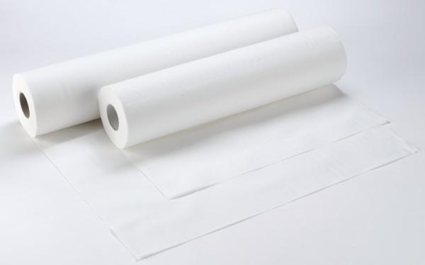 Abdeckrollen für Untersuchungsliegen 2-lagig, 50x35 cm, hochweiß (9 Rollen)