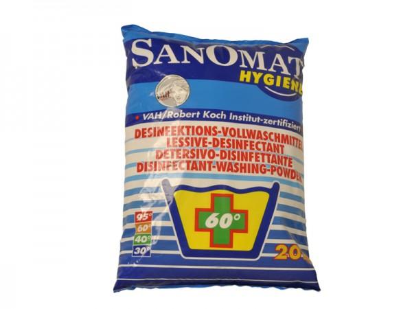 Sanomat Desinfektionswaschmittel für alle Einsatzbereiche 20 kg (1 Sack)